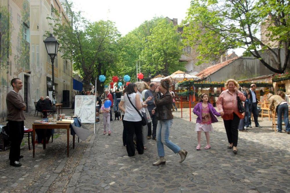 Tokom letnjih meseci u Skadarskoj ulici se pod pokroviteljstvom grada
