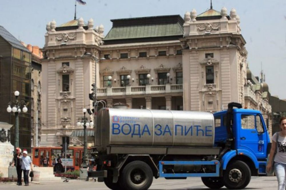 PRVA POMOĆ NA VRUĆINI: Cisterne s vodom za piće od danas na 4 lokacije