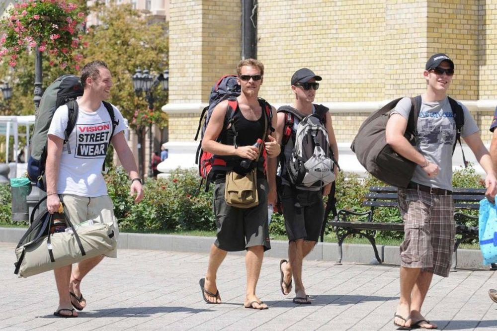 strani turisti, poseta, TOB, Beograd,