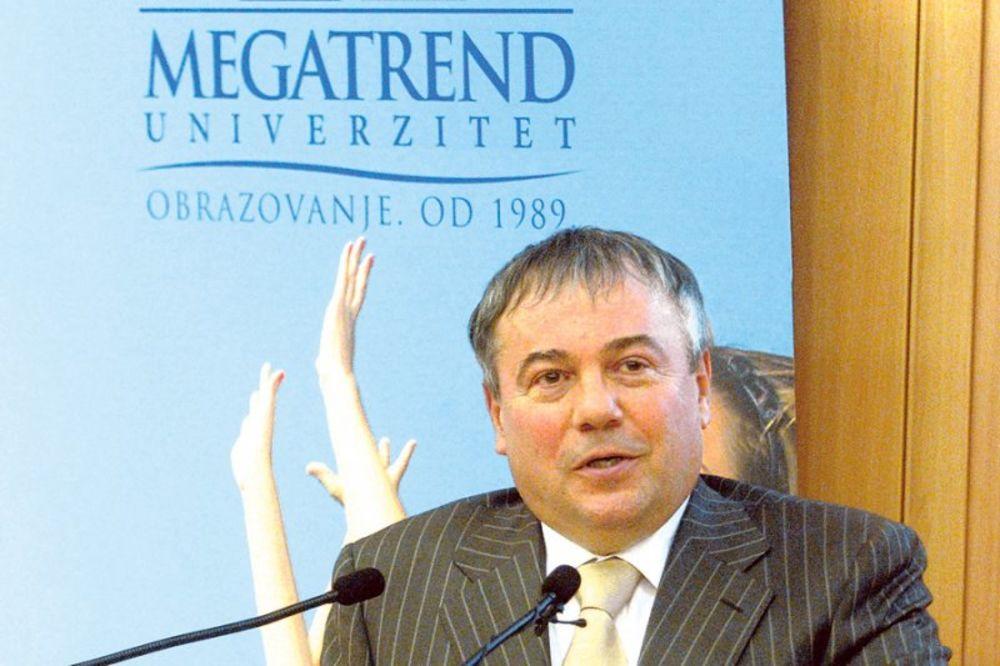 rektor univerziteta Megatrend, Mića Jovanović, korupcija, KAPK, Komisija za akre