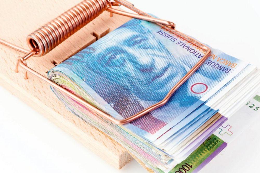švajcarac, švajcarski franak, krediti, kredit
