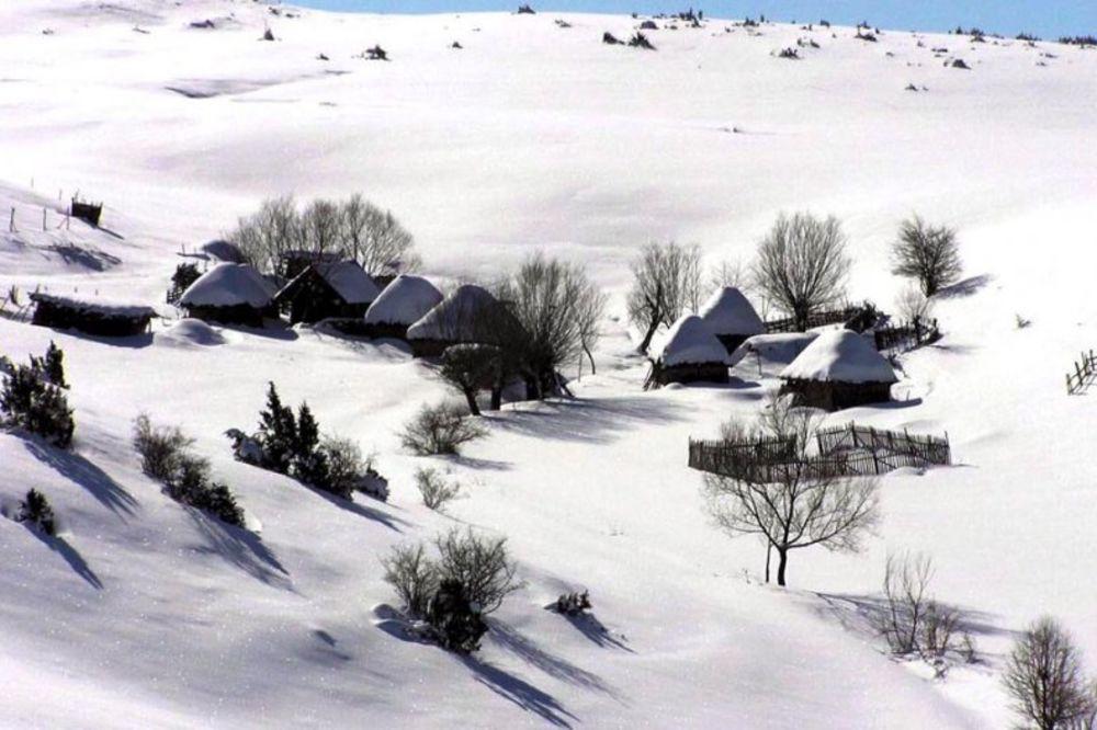 BRRRRRR: U Sjenici jutros minus 9