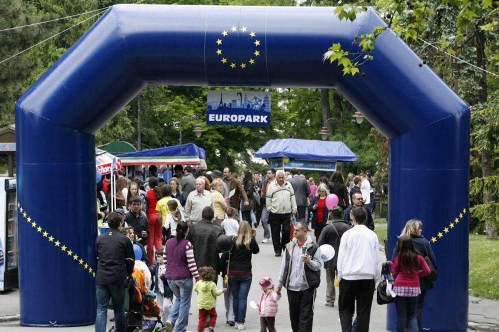 evropark, dan evrope, EU, Kalemegdan