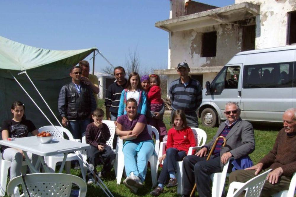Kosovo i Metohija, Žač, kamp povratnika