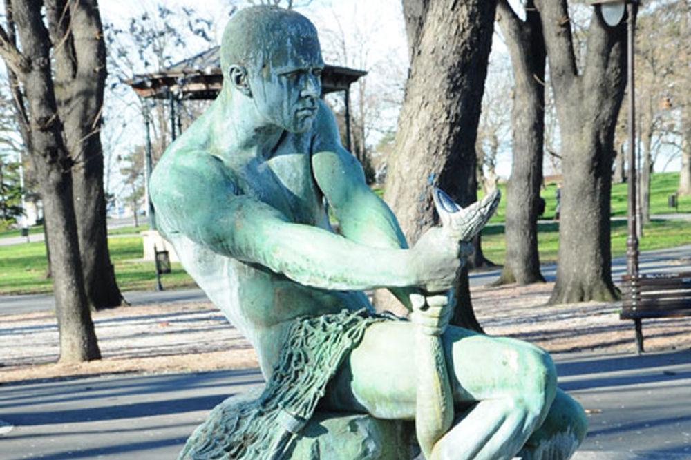 Srpsko vajarstvo Beograd-kalemegdan-fontana-borba-1328585176-37177
