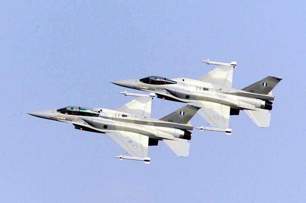 F16, F-16, grčka vojska, avion, sudar