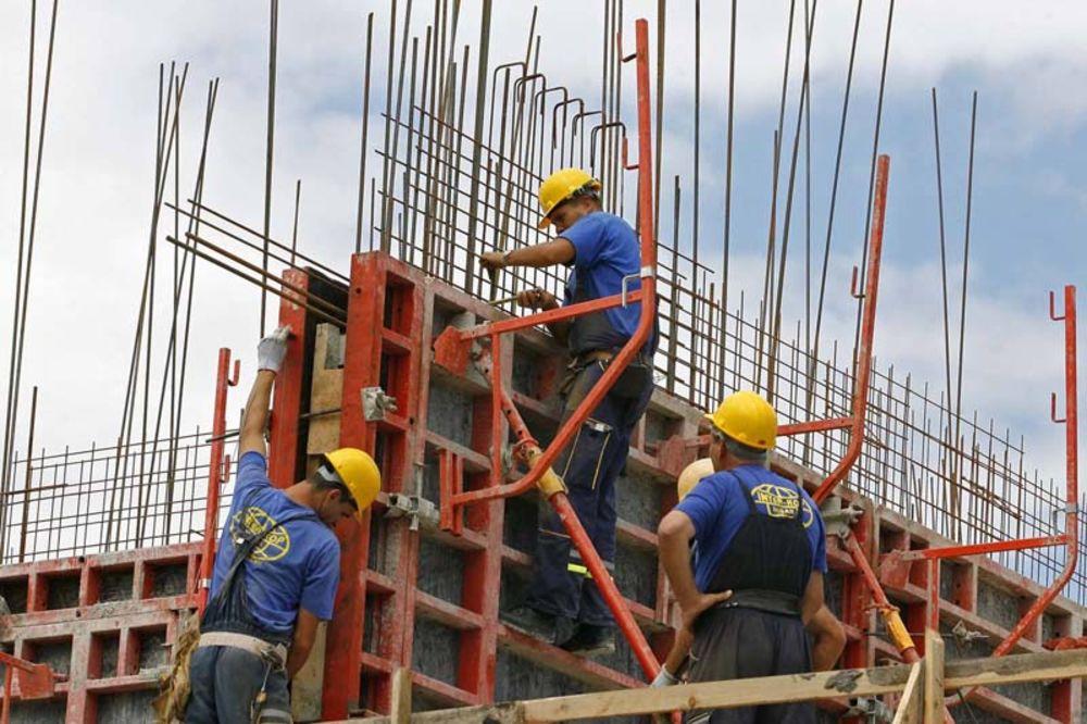 Građevinci, strajk, 8. septembra
