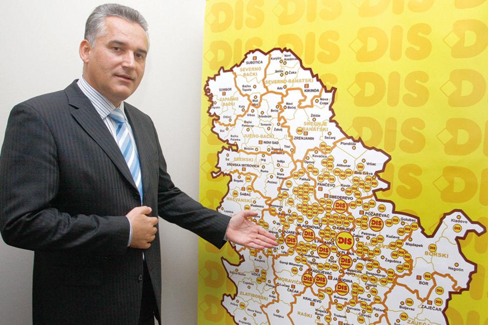 Zoran Tirnanić, Dis, dobro, trgovinski lanac,