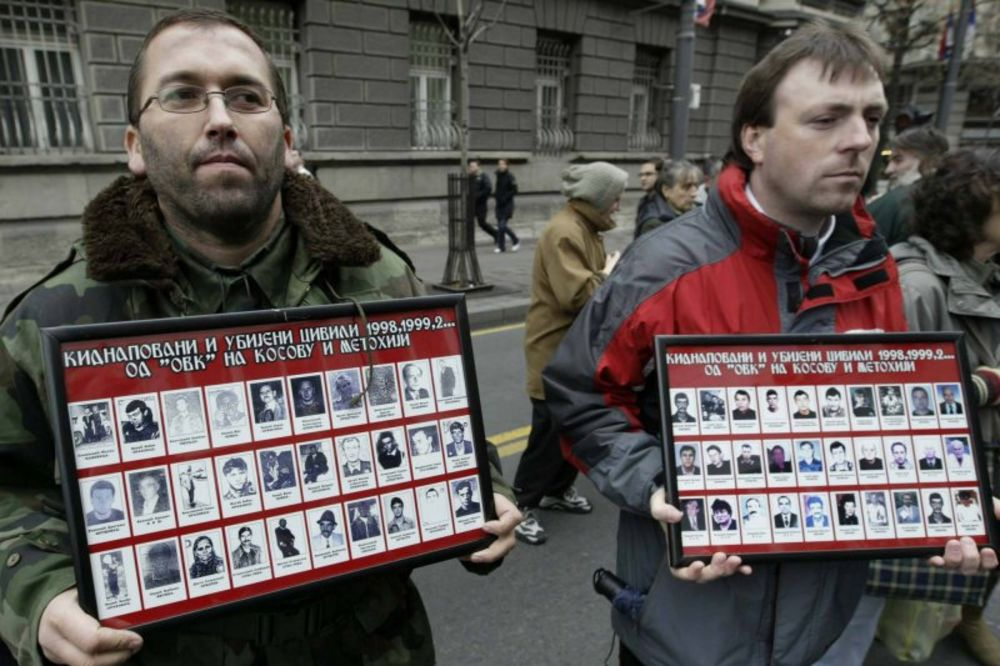 kidnapovani, nestali, kosovo, kosmet, dijalog, pregovori, udruženje