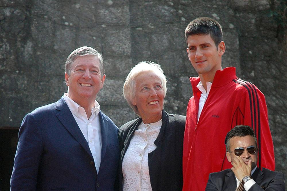Novak Đoković, SRĐAN ĐOKOVIĆ, novak djokovic, Jelena Genčić, srdjan djokovic