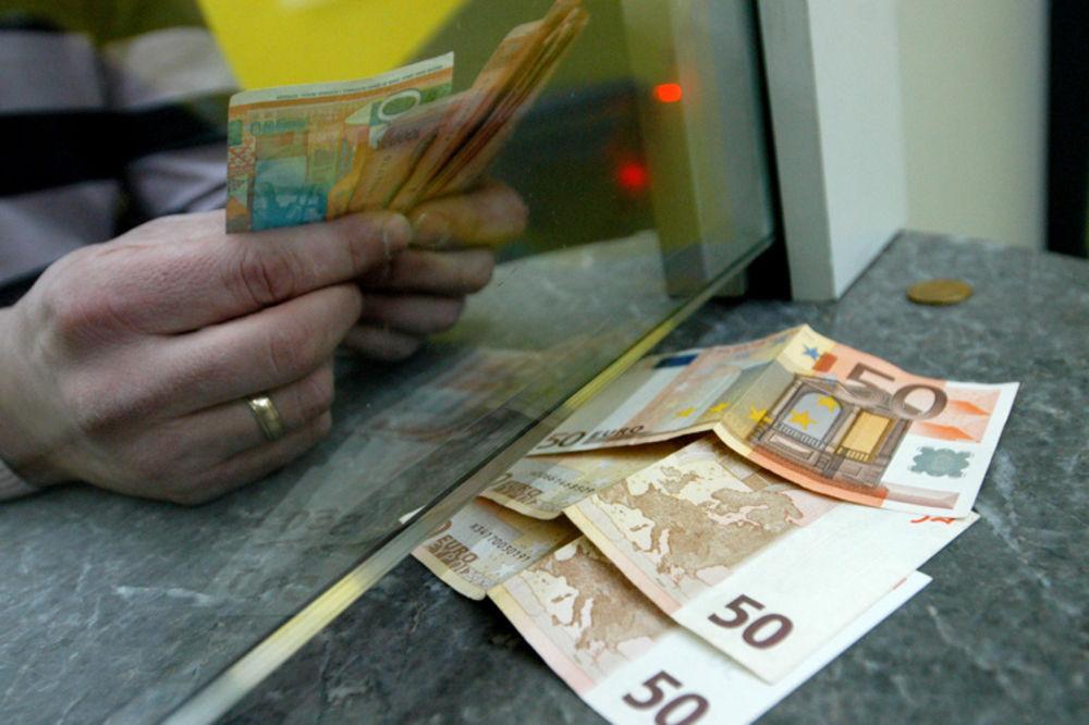 dinar, kurs, evro,