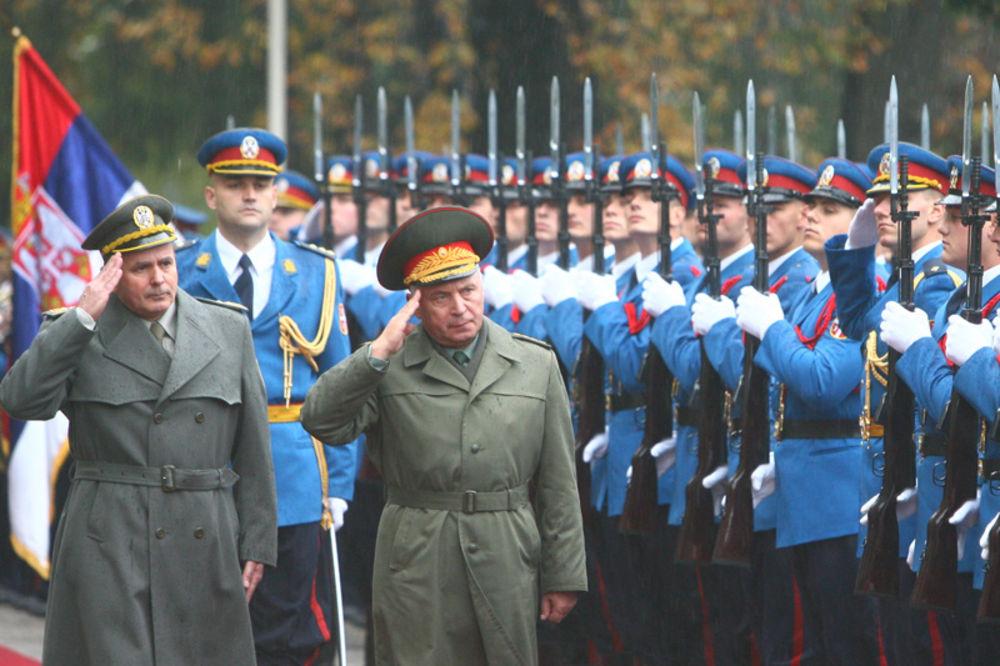 kodeks časti, vojska srbija, ministarstvo odbrane, načelnik generalštaba,