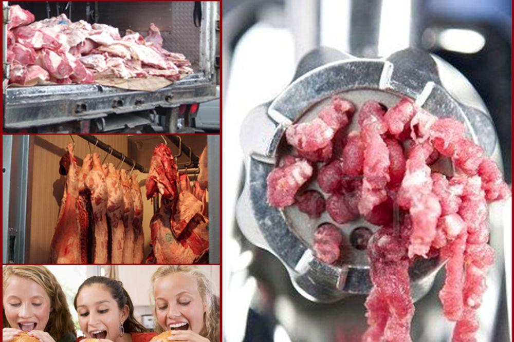 TRUJU NAS ZBOG PROFITA: Prodaju nam meso koje na zapadu ne jedu ni životinje!