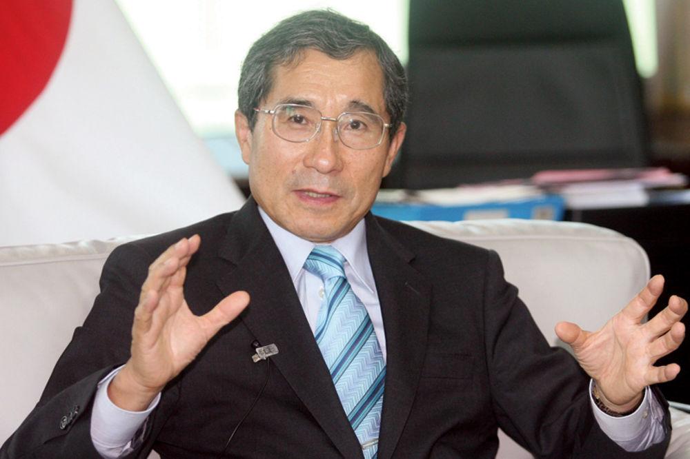 Tošio Cunozaki, japan, donacija, rak dojke, katarina rebrača