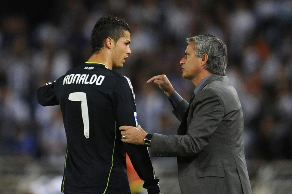 Žoze Murinjo, Kristijan Ronaldo,