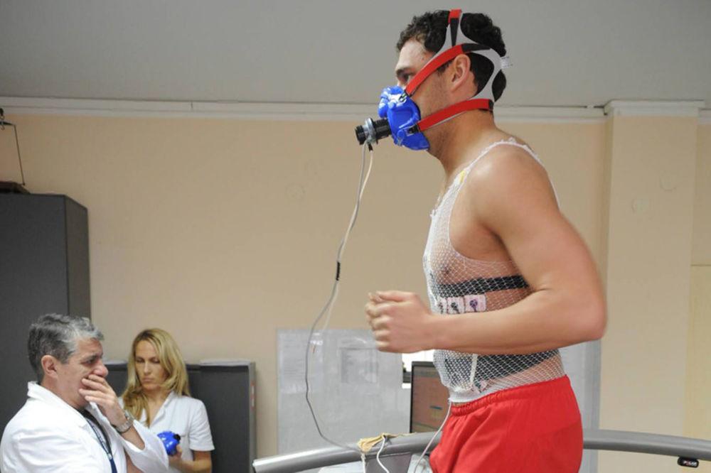 fizička sprema, testiranje,  testovi, Duško Tošić, Li Adi, Pavle Ninkov,