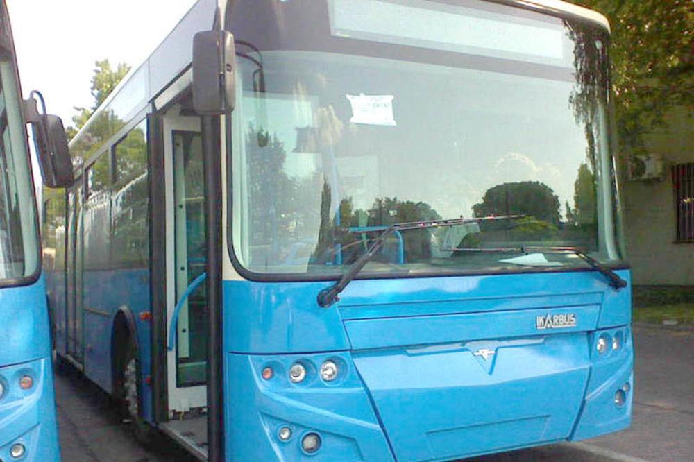nesreća, autobus, pad, Novi Sad