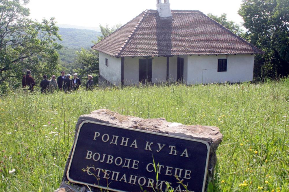 VEK CERSKE BITKE: Mali odao poštu srpskim junacima