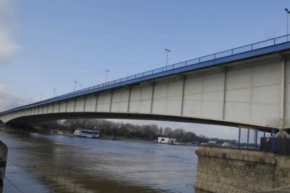 SANACIJA: Zatvorena žuta traka na Brankovom mostu