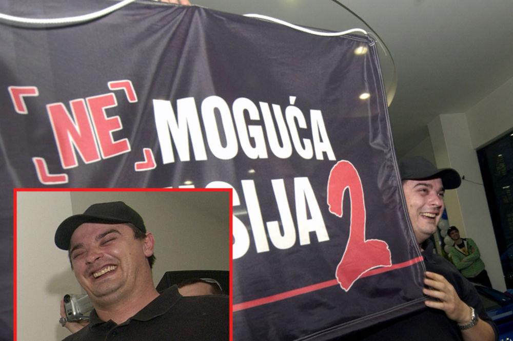 tv pink, milorad veljovic, nemoguća misija, uhapšen Goran Marković, Rikošet, sum