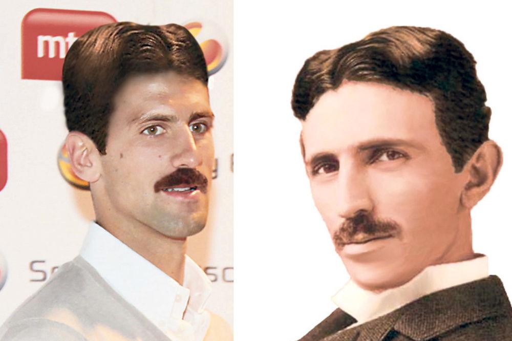 Novak Đoković, Nikola Tesla,