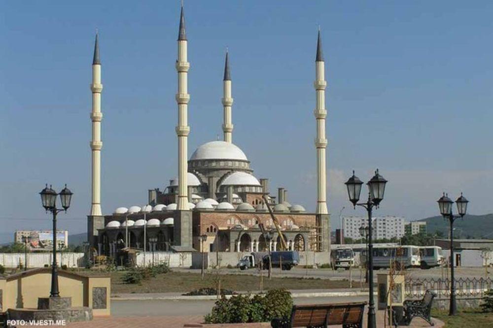 stanovništva kao dve posebne vere prikazani islam i muslimanska vera