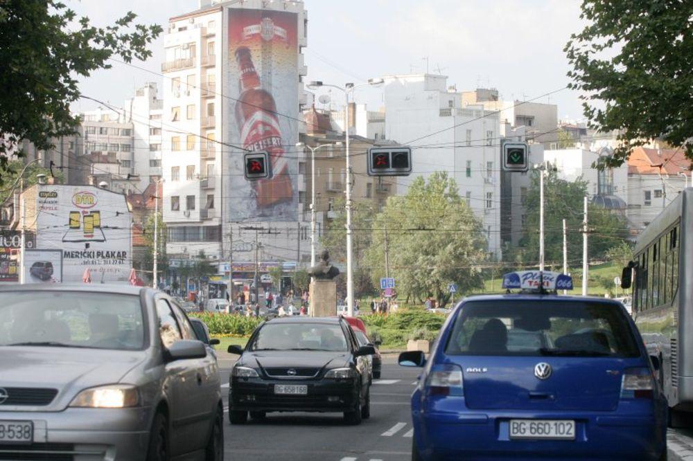 KOLAPS U GRADU: Blokirana Slavija, Autokomanda, Trg republike i Kneza Miloša