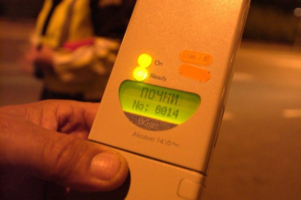 PIJAN KO LETVA: Požarevljanin naduvao 3,45 promila alkohola u krvi