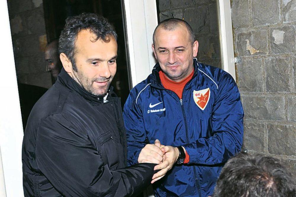 Dejan Savićević, Miloš Drizić, večera, Crvena zvezda, pripreme Zvezde, Crna Gor