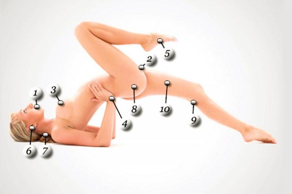 DETALJNI TEST: Ovako se aktiviraju najosetljivije erogene zone kod žena!