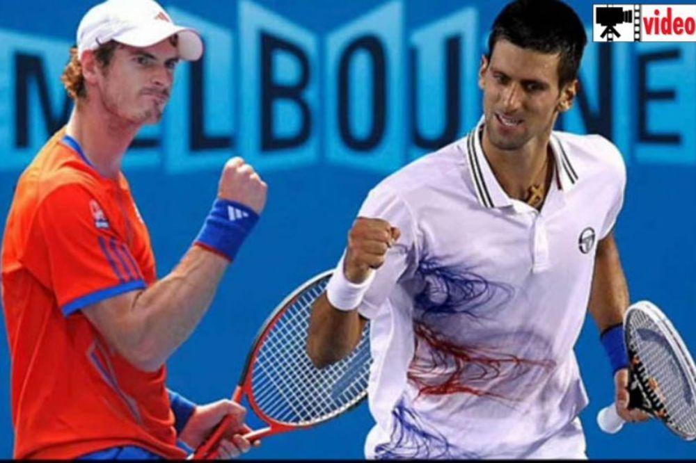 tenis, Australijan open, MELBURN, novak djokovic, Endi Marej