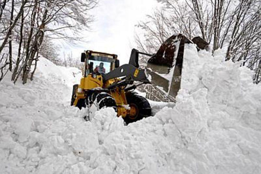 Zatvoren put Valjevo - Osečina: Zbog snega neprohodni pojedini pravci!