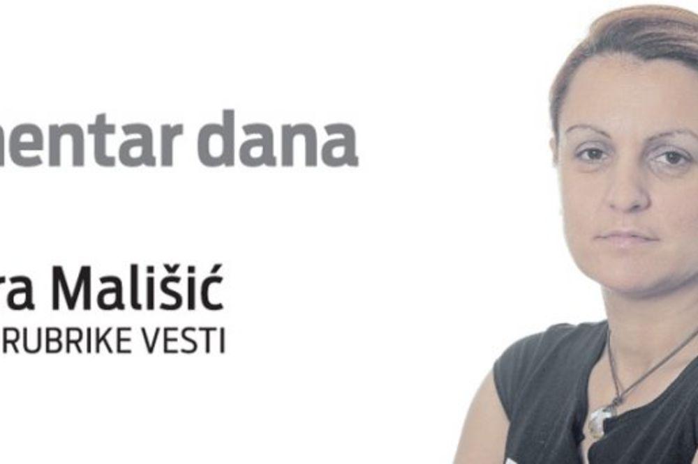 Sandra Mališić, Kurir, komentar dana, majka