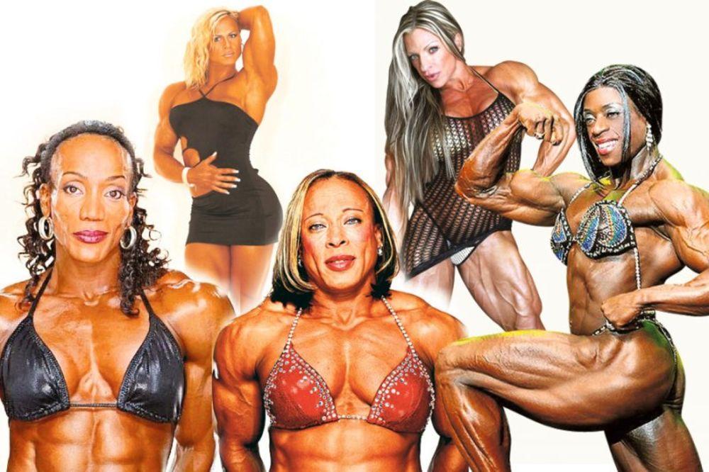 BODI BILDING, najjače žene, svetske šampionke