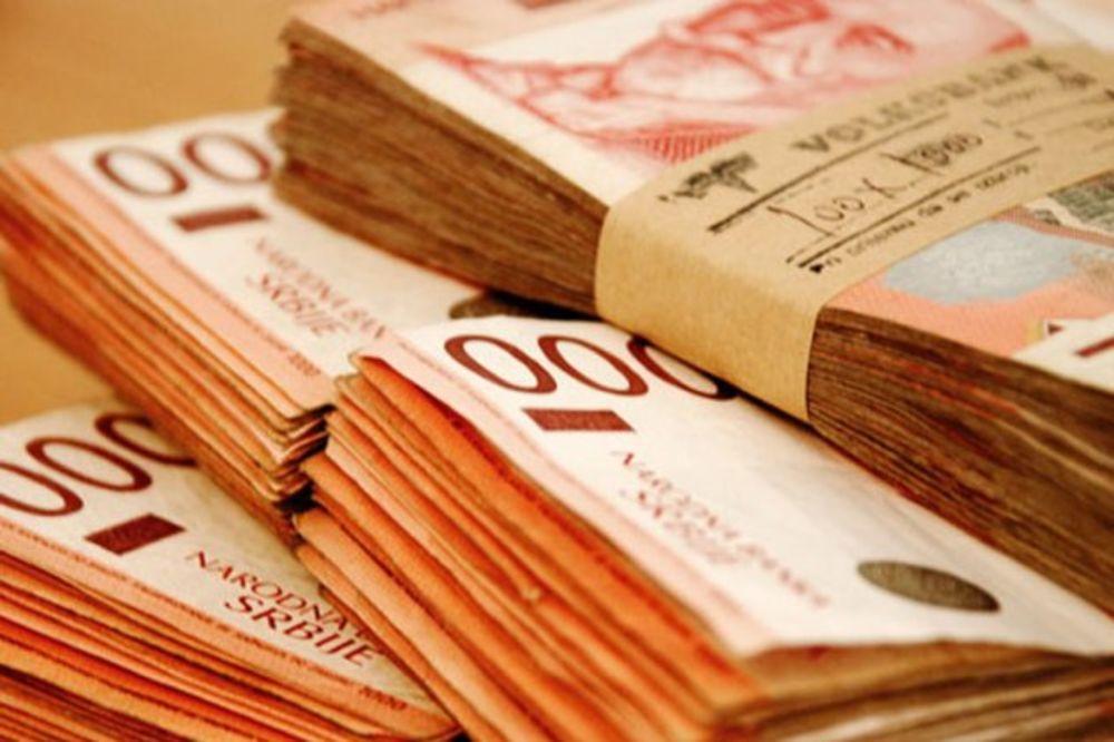 Prosečna februarska plata u Srbiji 40.003 dinara