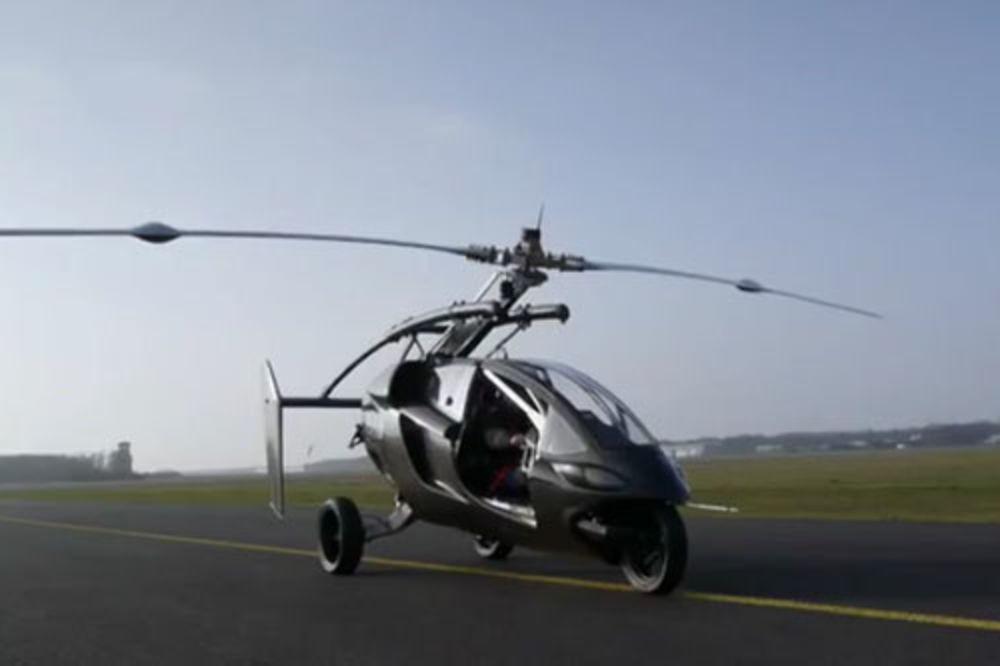 Leteći automobil, helikopter