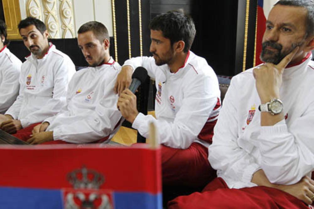 Selektor Obradović i teniseri Srbije