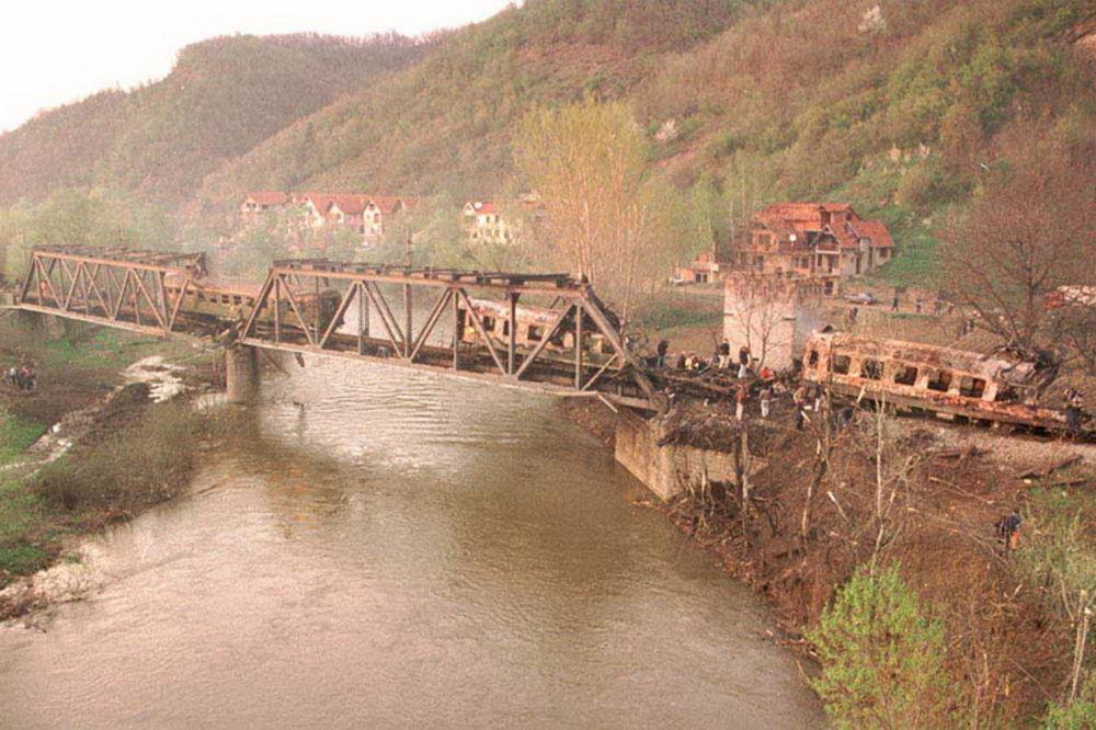 Godišnjica bombardovanja voza u Grdelici