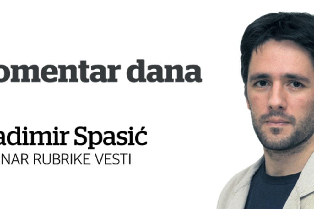 Vladimir Spasić, komentar dana