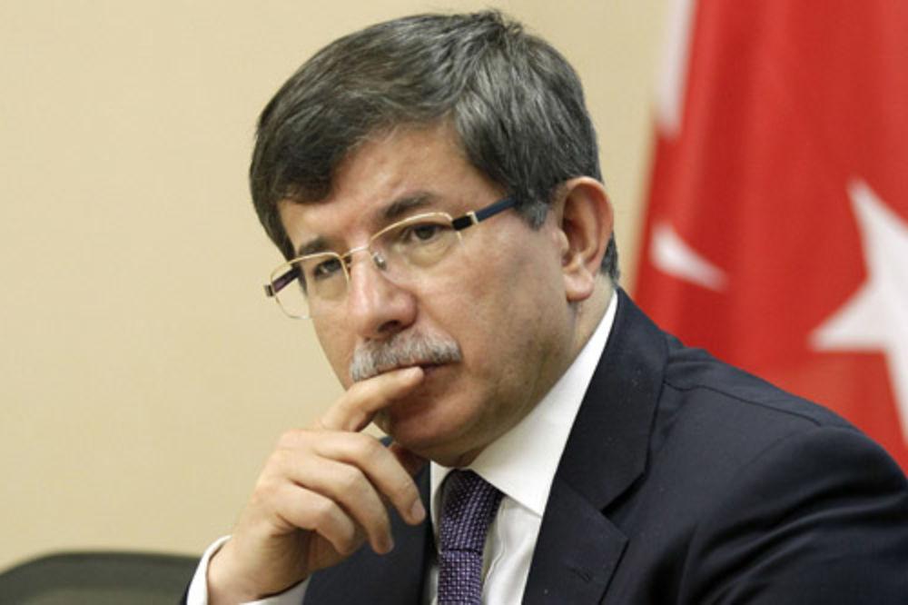 Ahmet Davutoglu, plan, skrivanje, Balkan, rojters