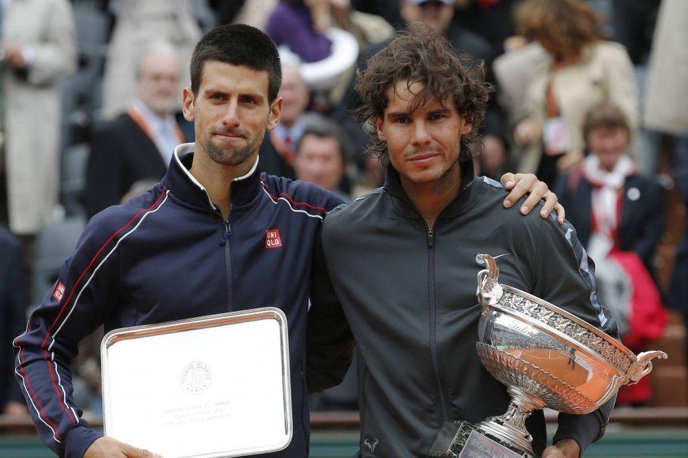 Djokovic, Nadal Garos pehari