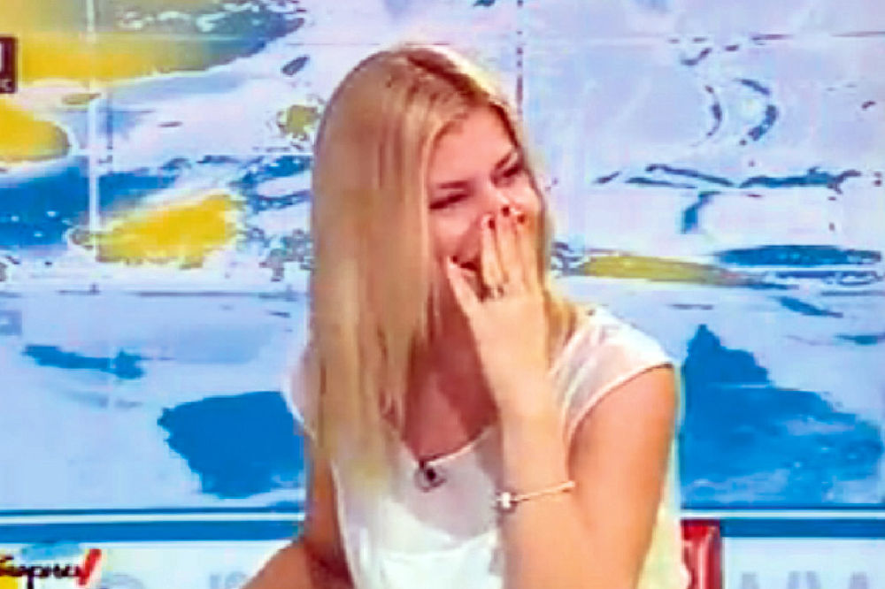 VODITELJKA SE ZALJUBILA: Nataša, je l' ti ovo novi de(č)ko?!