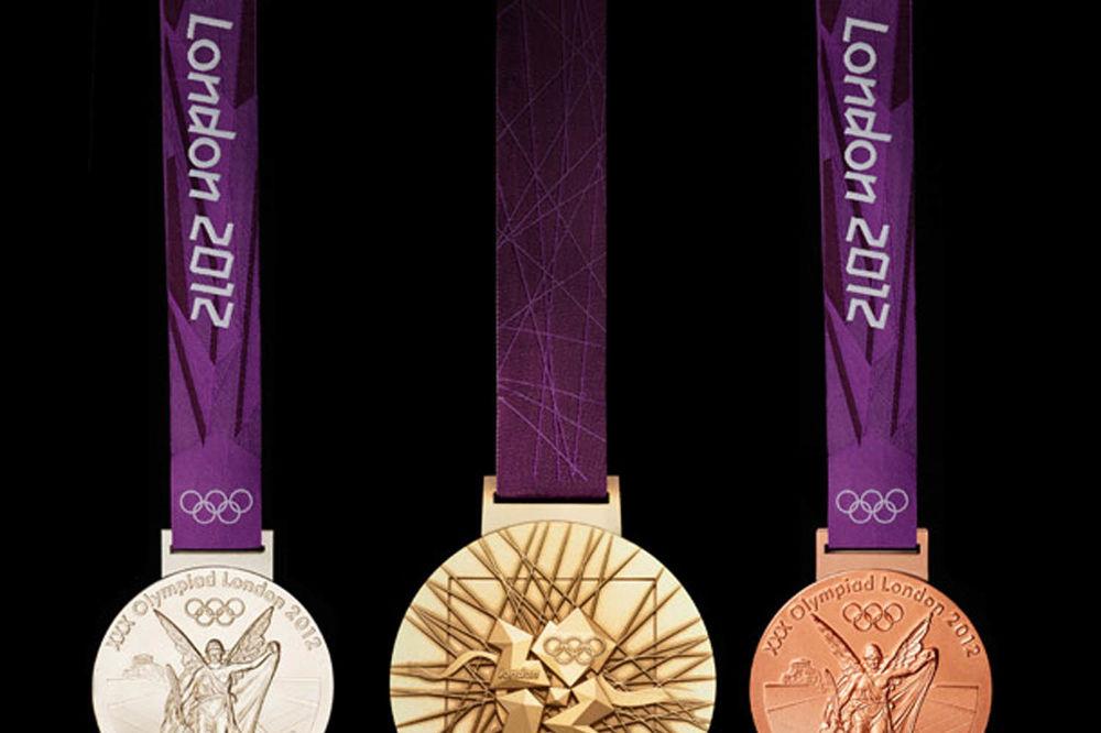 Olimpijsko zlato pravljeno od srebra
