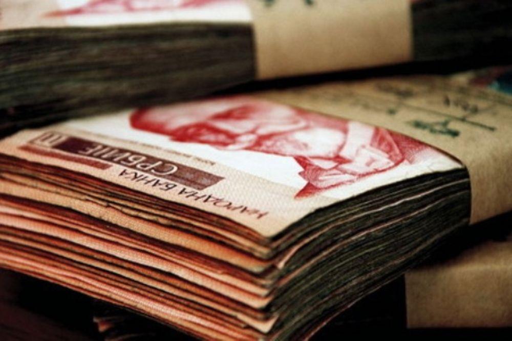 Dinar ojačao - evro u ponedeljak 117 dinara