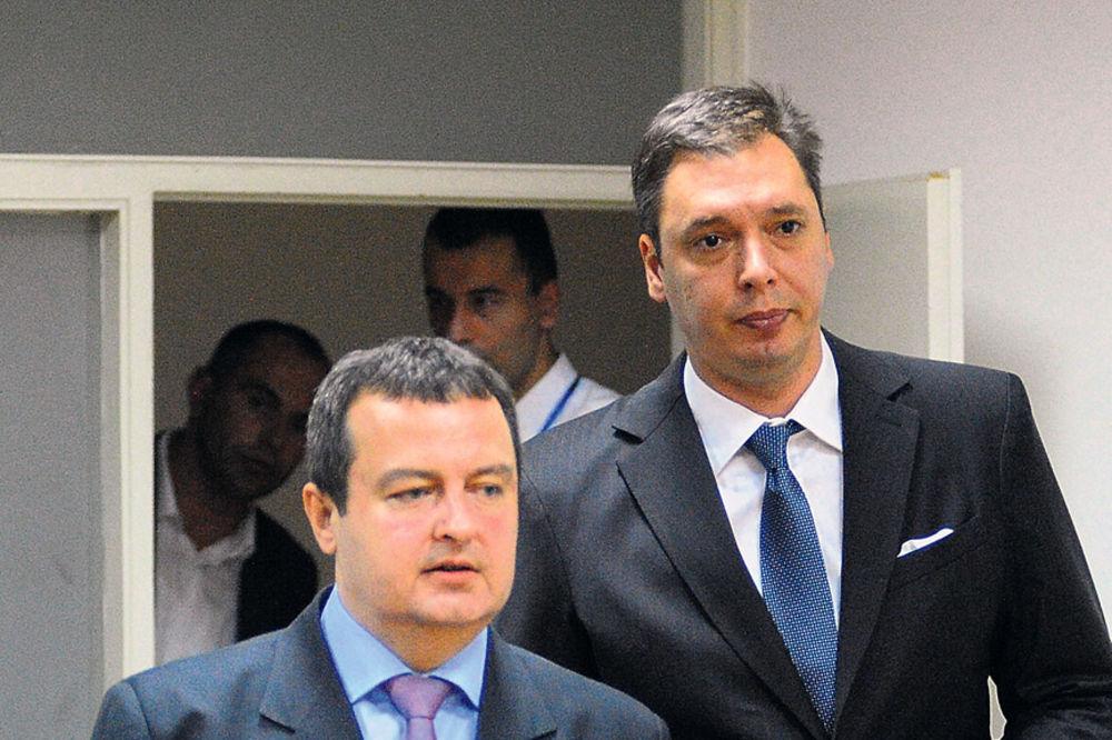 Aleksandar Vučić, Ivica Dačić, Mlađan Dinkić, dogovor, 24. jula, VLADA SRBIJE,