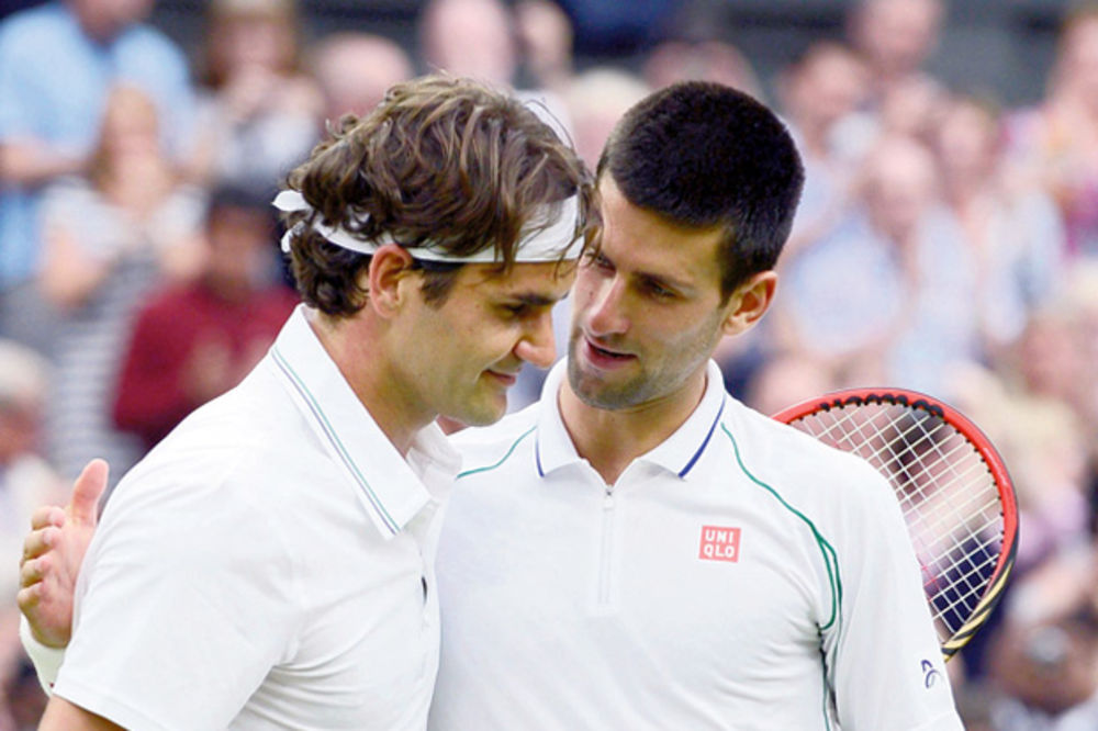 Novak Đoković, Rodžer Federer, vimbldon,