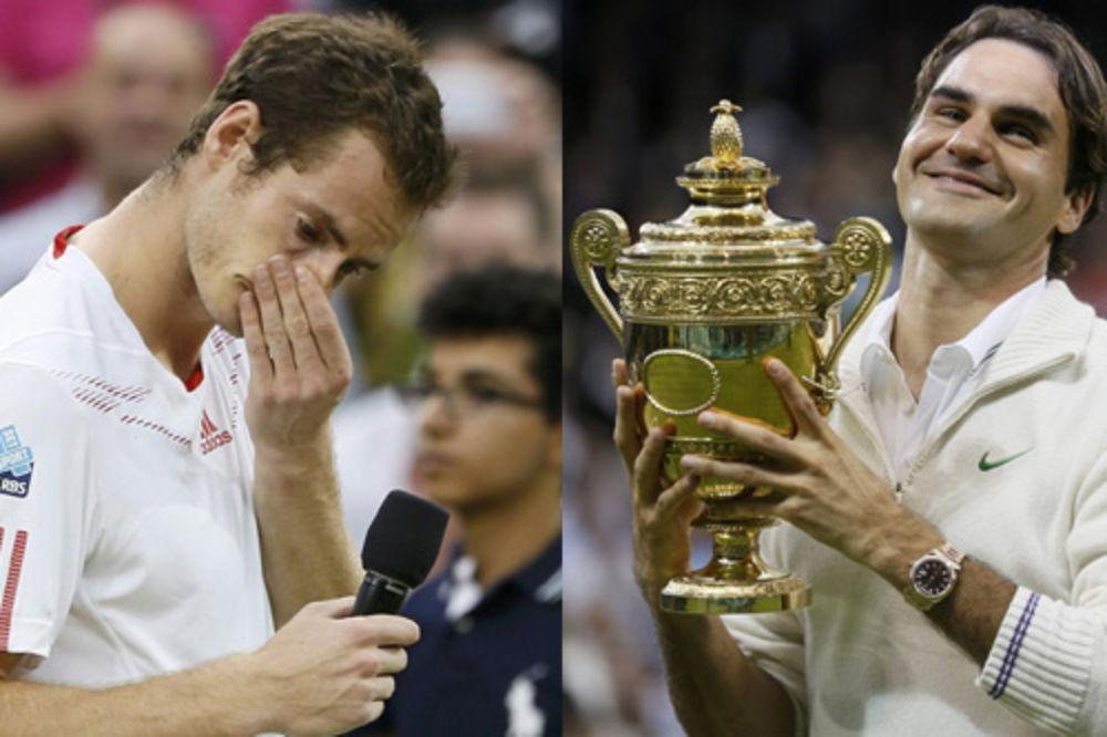 Federer, Marej, Vimbldon