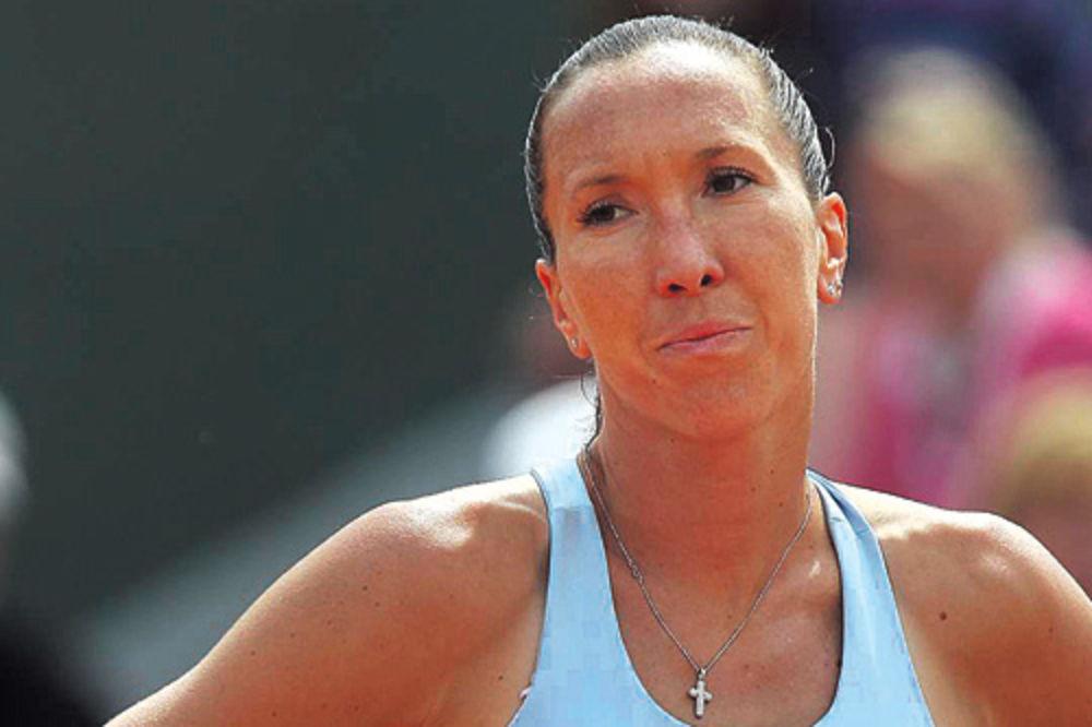 Jelena Janković, loša forma, muški tenis