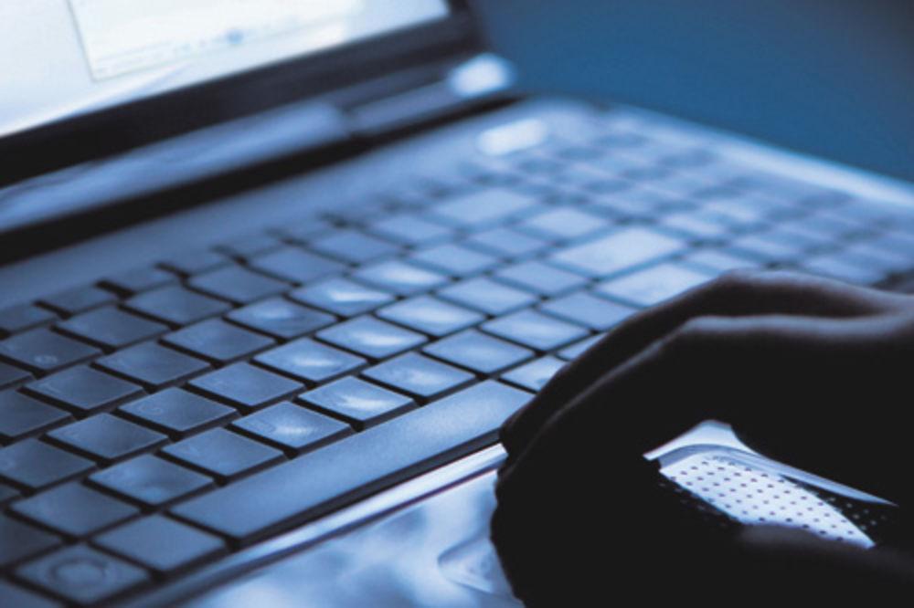 Hakeri, kompjuter, tastatura,