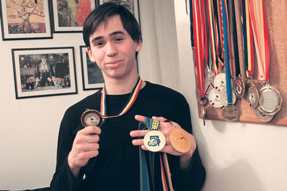 Teodor fon Burg, najbolji matematičar, zlatna medalja